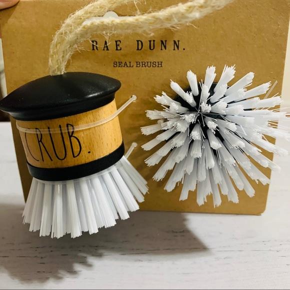 Rae Dunn SCRUB seal brush